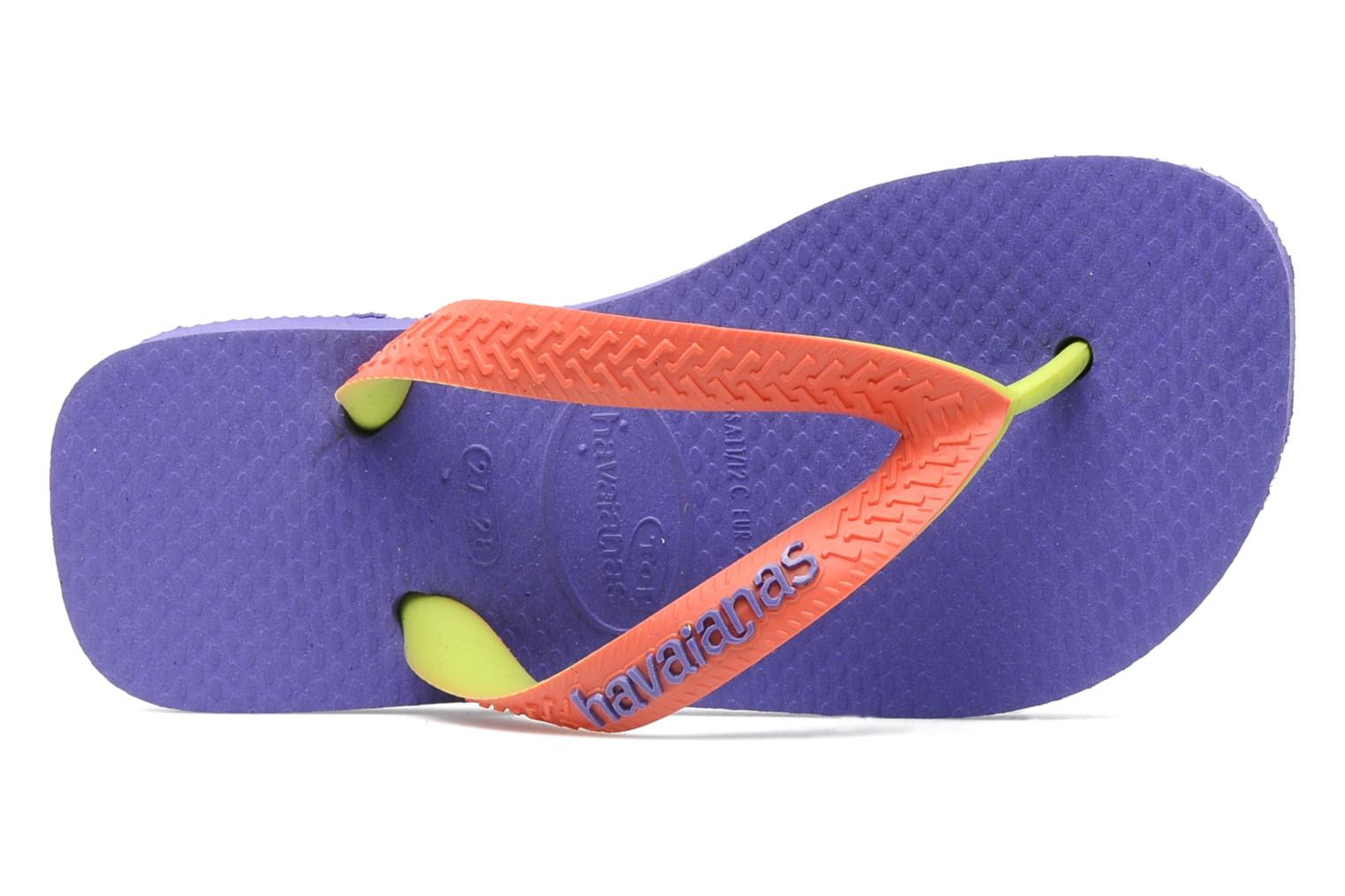 Chanclas Havaianas Top Mix Violeta      vista lateral izquierda