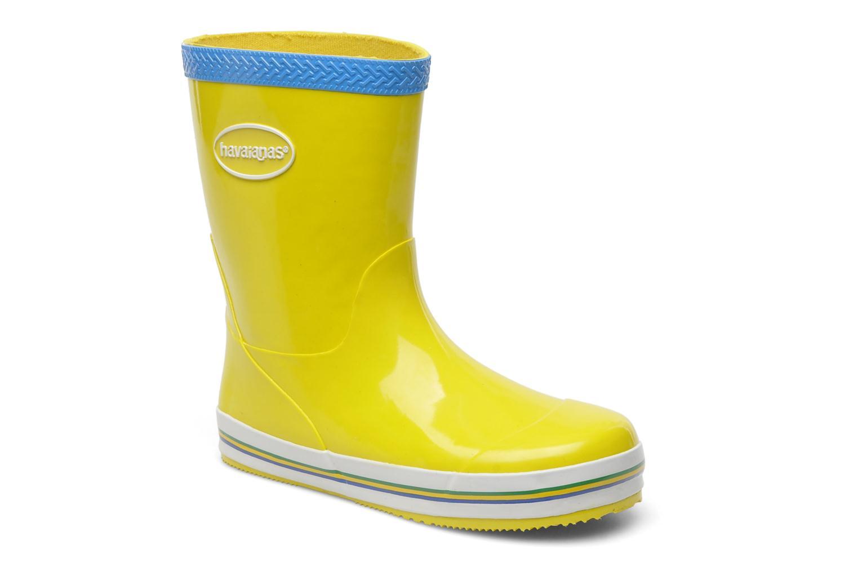 Bottes Havaianas Aqua Kids Rain Boots Jaune vue détail/paire