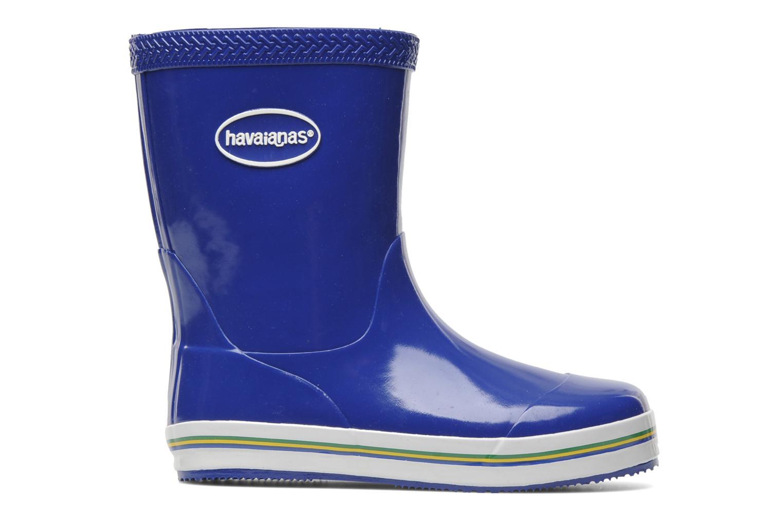 Bottes Havaianas Aqua Kids Rain Boots Bleu vue derrière