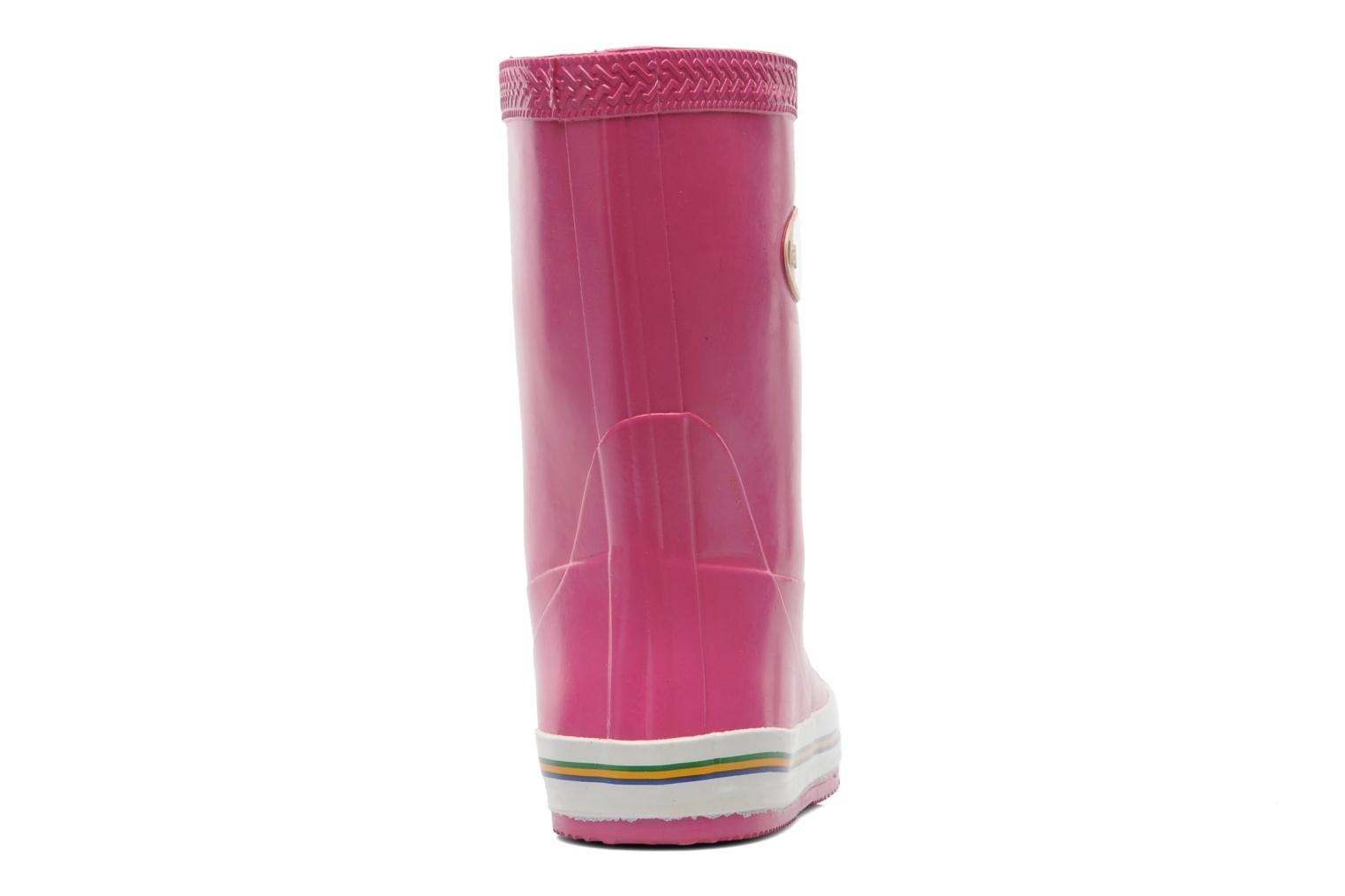 Boots & wellies Havaianas Aqua Kids Rain Boots Pink view from the right