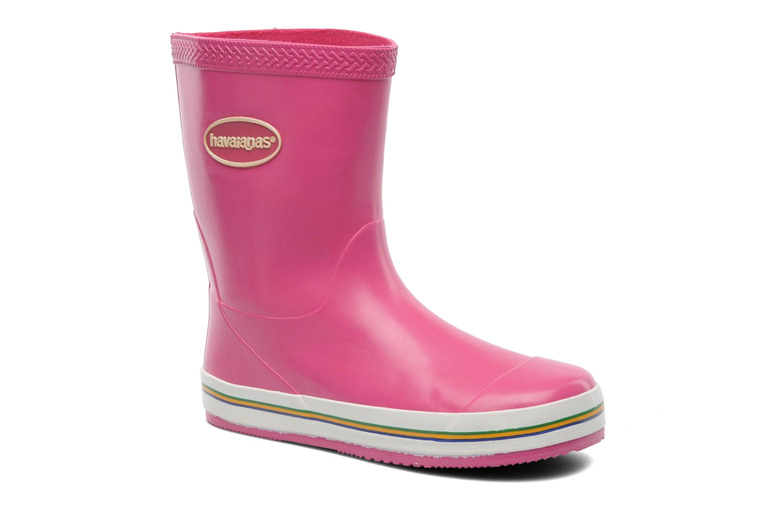 Boots & wellies Havaianas Aqua Kids Rain Boots Pink detailed view/ Pair view