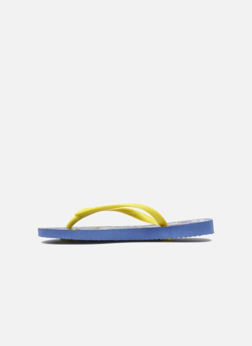 Tongs Havaianas Kids Slim Pucca Bleu vue face
