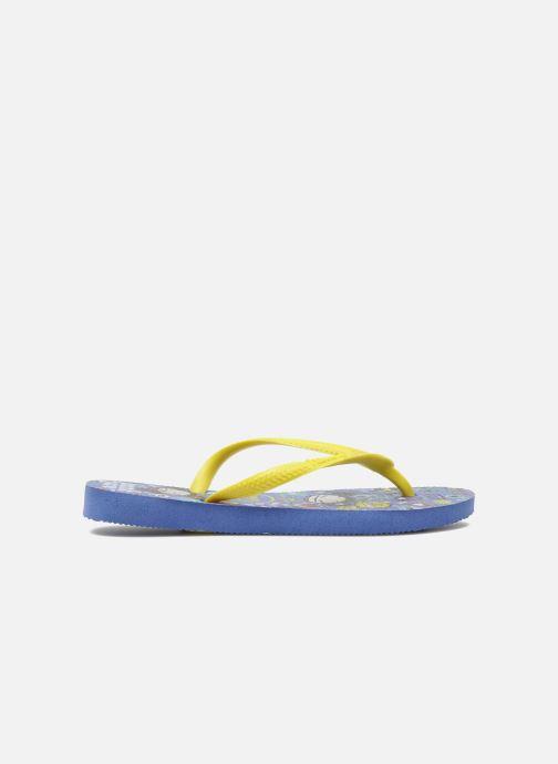 Flip flops Havaianas Kids Slim Pucca Blue back view