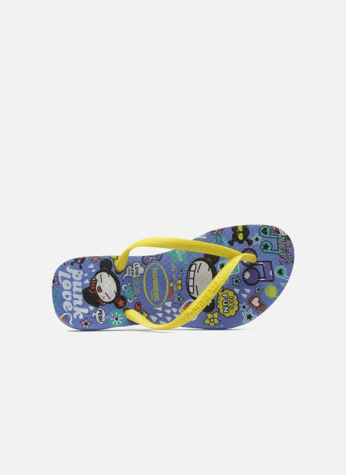 Slippers Havaianas Kids Slim Pucca Blauw links