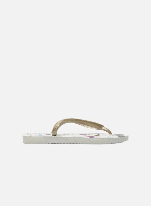 Flip flops Havaianas Kids Slim Pucca White back view