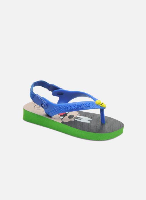 Flip flops & klipklapper Havaianas Baby Disney Classic Blå detaljeret billede af skoene