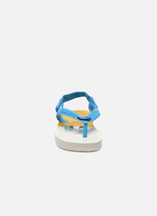 Tongs Havaianas Baby Disney Classic Bleu vue portées chaussures