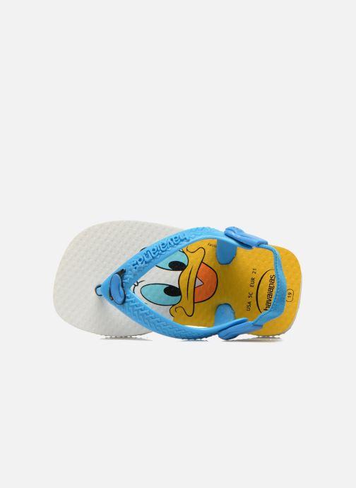 Tongs Havaianas Baby Disney Classic Bleu vue gauche