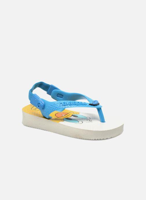 Tongs Havaianas Baby Disney Classic Bleu vue détail/paire