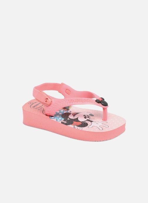 e40d7b9b85ee Flip flops   klipklapper Havaianas Baby Disney Classic Pink detaljeret  billede af skoene