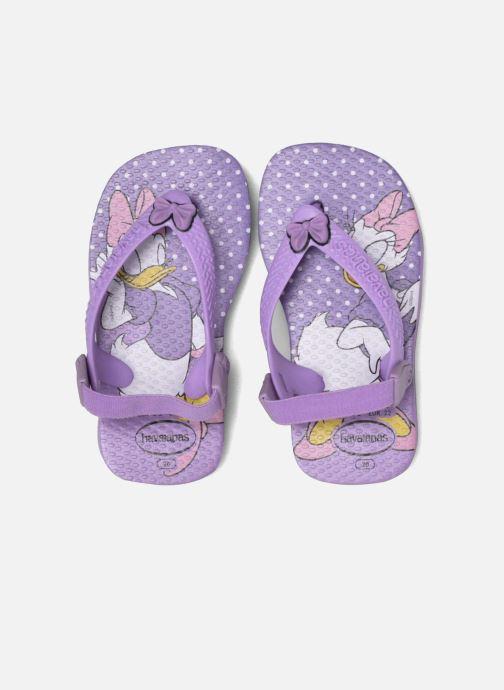 Chanclas Havaianas Baby Disney Classic Violeta      vista 3/4