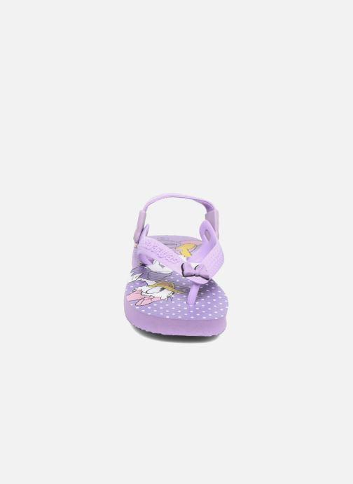 Chanclas Havaianas Baby Disney Classic Violeta      vista del modelo