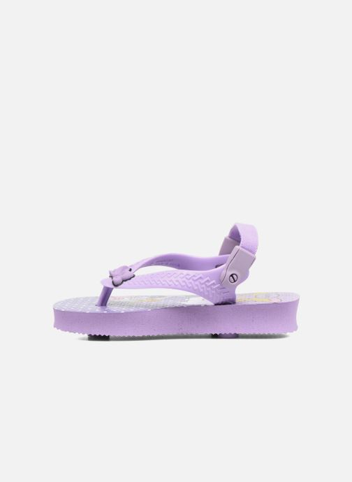 Tongs Havaianas Baby Disney Classic Violet vue face
