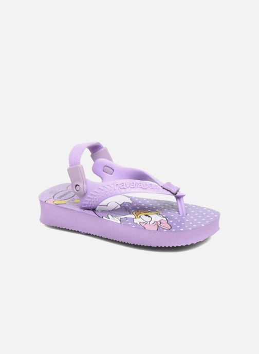 Chanclas Havaianas Baby Disney Classic Violeta      vista de detalle / par