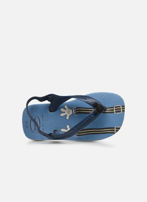 Slippers Havaianas Baby Disney Classic Blauw links