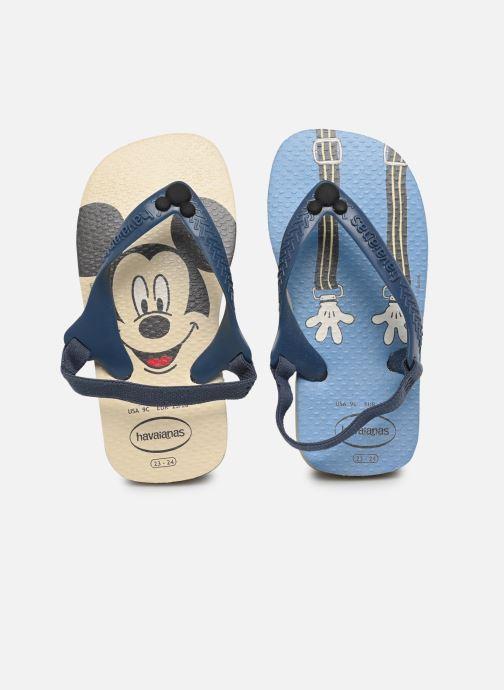 Slippers Havaianas Baby Disney Classic Blauw detail