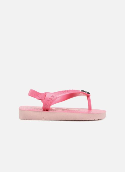 Slippers Havaianas Baby Disney Classic Roze achterkant