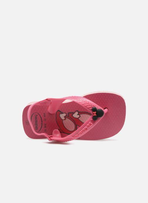 Infradito Havaianas Baby Disney Classic Rosa immagine sinistra