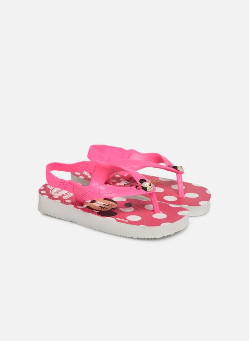 Slippers Havaianas Baby Disney Classic Roze detail