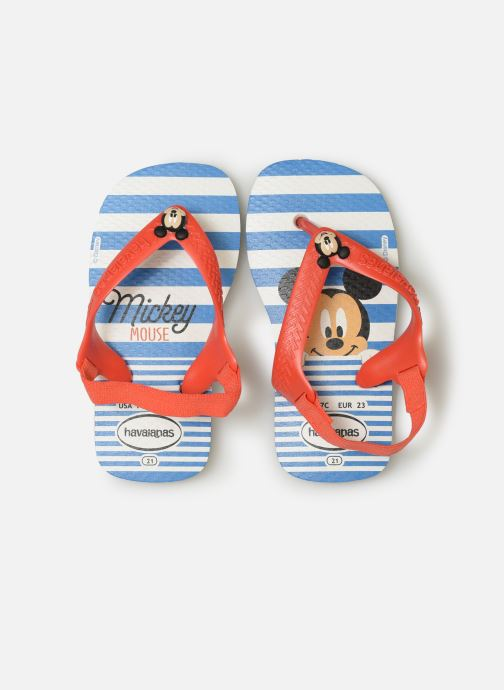Tongs Havaianas Baby Disney Classic Rouge vue portées chaussures