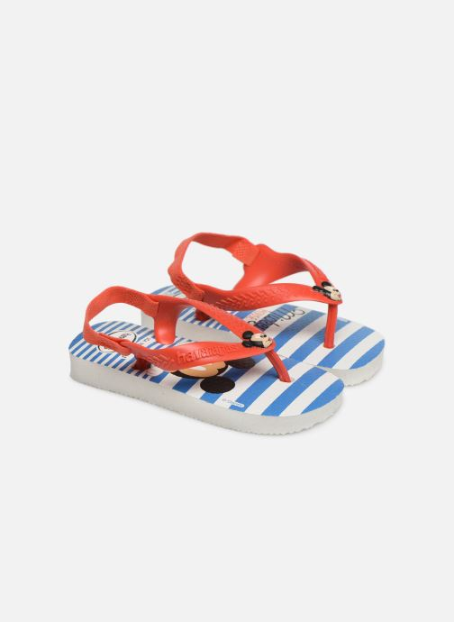 Slippers Havaianas Baby Disney Classic Rood detail
