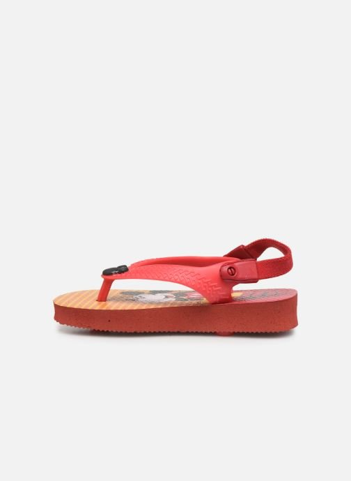 Tongs Havaianas Baby Disney Classic Rouge vue face