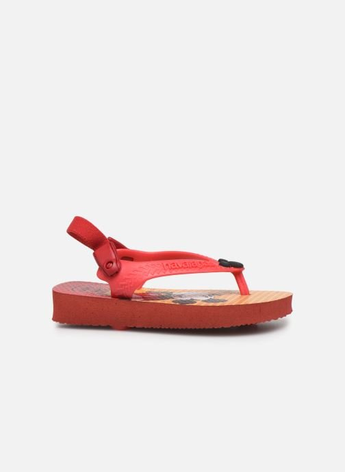 Slippers Havaianas Baby Disney Classic Rood achterkant
