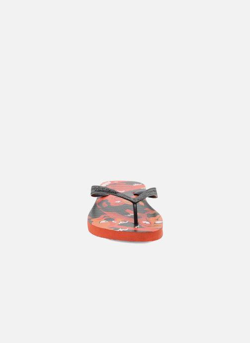 Infradito Havaianas Kids Scoobydoo Arancione modello indossato