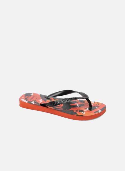 Slippers Havaianas Kids Scoobydoo Oranje detail