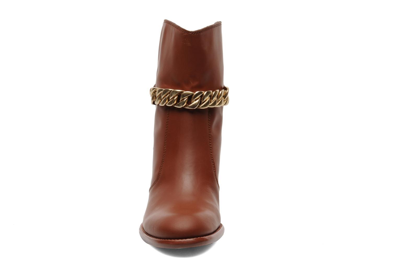 Bottines et boots See by Chloé Penelope Marron vue portées chaussures