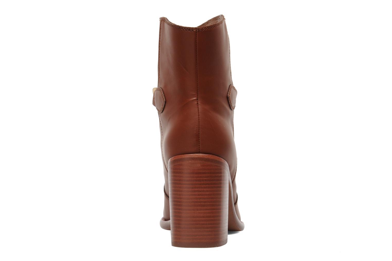 Bottines et boots See by Chloé Penelope Marron vue droite