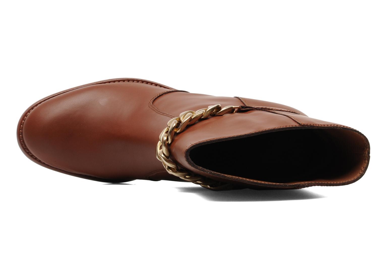 Bottines et boots See by Chloé Penelope Marron vue gauche