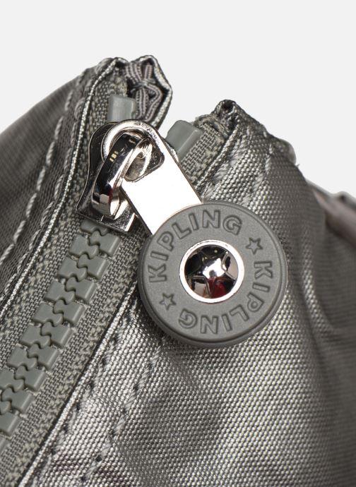 Reisegepäck Kipling Creativity XL silber ansicht von links