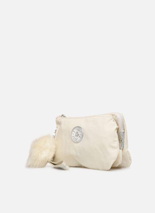 Bagages kipling Creativity XL Blanc vue portées chaussures