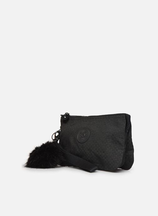 Bagages kipling Creativity XL Noir vue portées chaussures