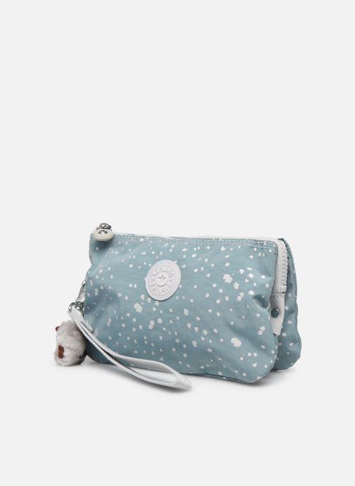 Reisegepäck Kipling Creativity XL blau schuhe getragen