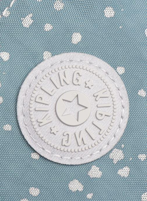 Reisegepäck Kipling Creativity XL blau ansicht von links