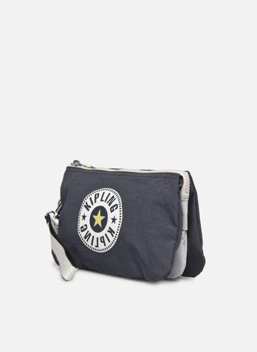 Reisegepäck Kipling Creativity XL grau schuhe getragen