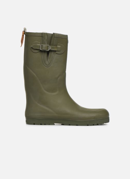 Støvler & gummistøvler Aigle Woody Pop Fur Grøn se bagfra