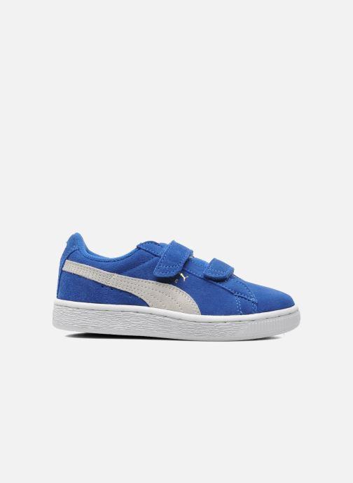 Sneakers Puma Suede 2 Straps Kids Blauw achterkant