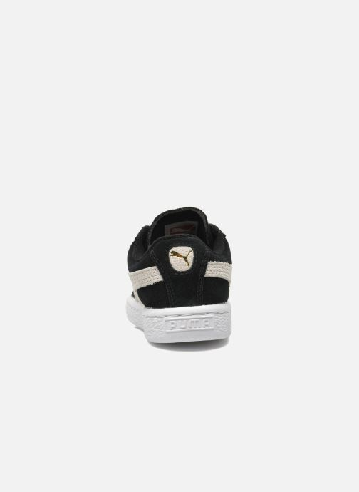 Baskets Puma Suede 2 Straps Kids Noir vue droite