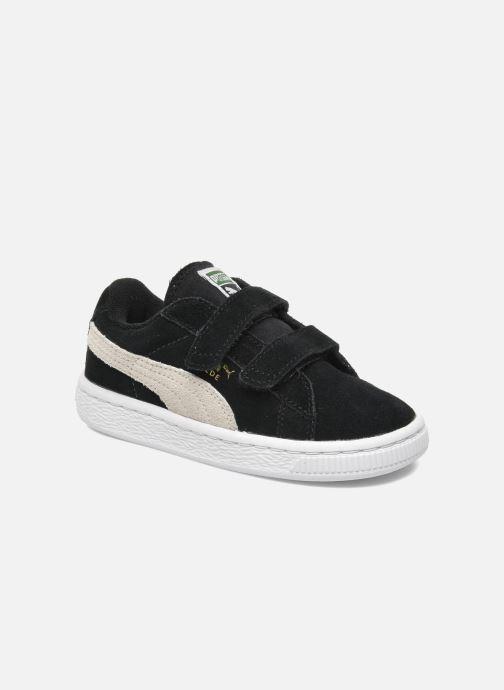 Sneakers Puma Suede 2 Straps Kids Zwart detail