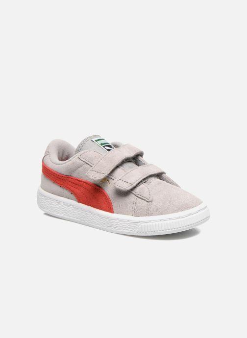 Sneakers Puma Suede 2 Straps Kids Grijs detail