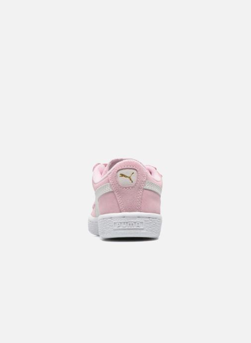 Sneakers Puma Suede 2 Straps Kids Roze rechts