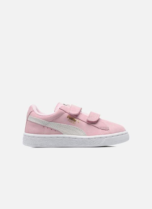 Sneakers Puma Suede 2 Straps Kids Roze achterkant