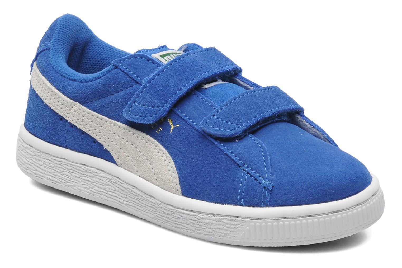 Puma Suede 2 Straps Kids. (Blauw) Sneakers chez Sarenza