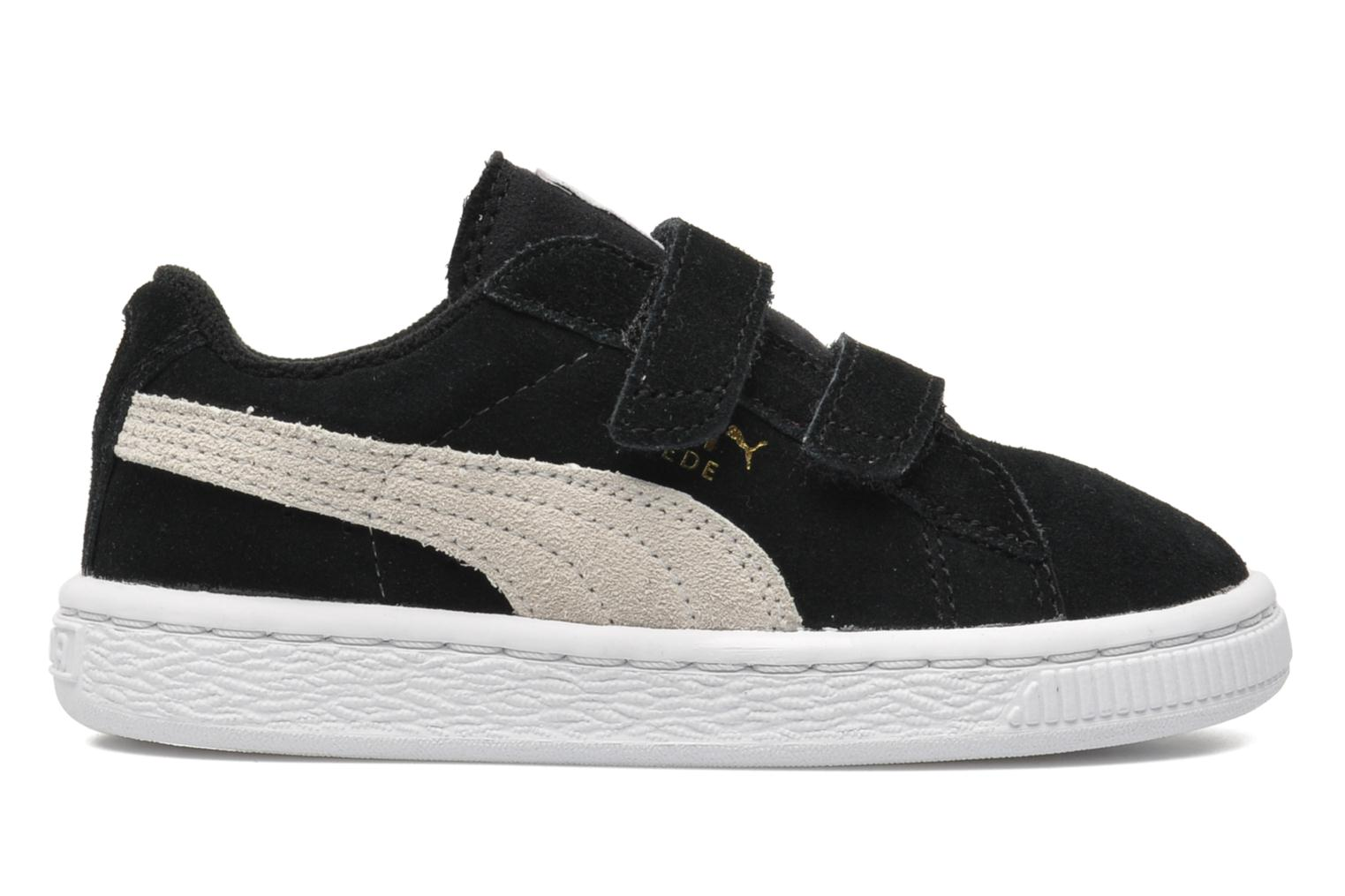 Trainers Puma Suede 2 Straps Kids. Black back view