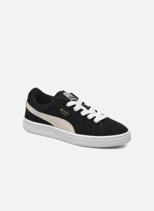 Sneakers Puma Suede Jr. Sort detaljeret billede af skoene