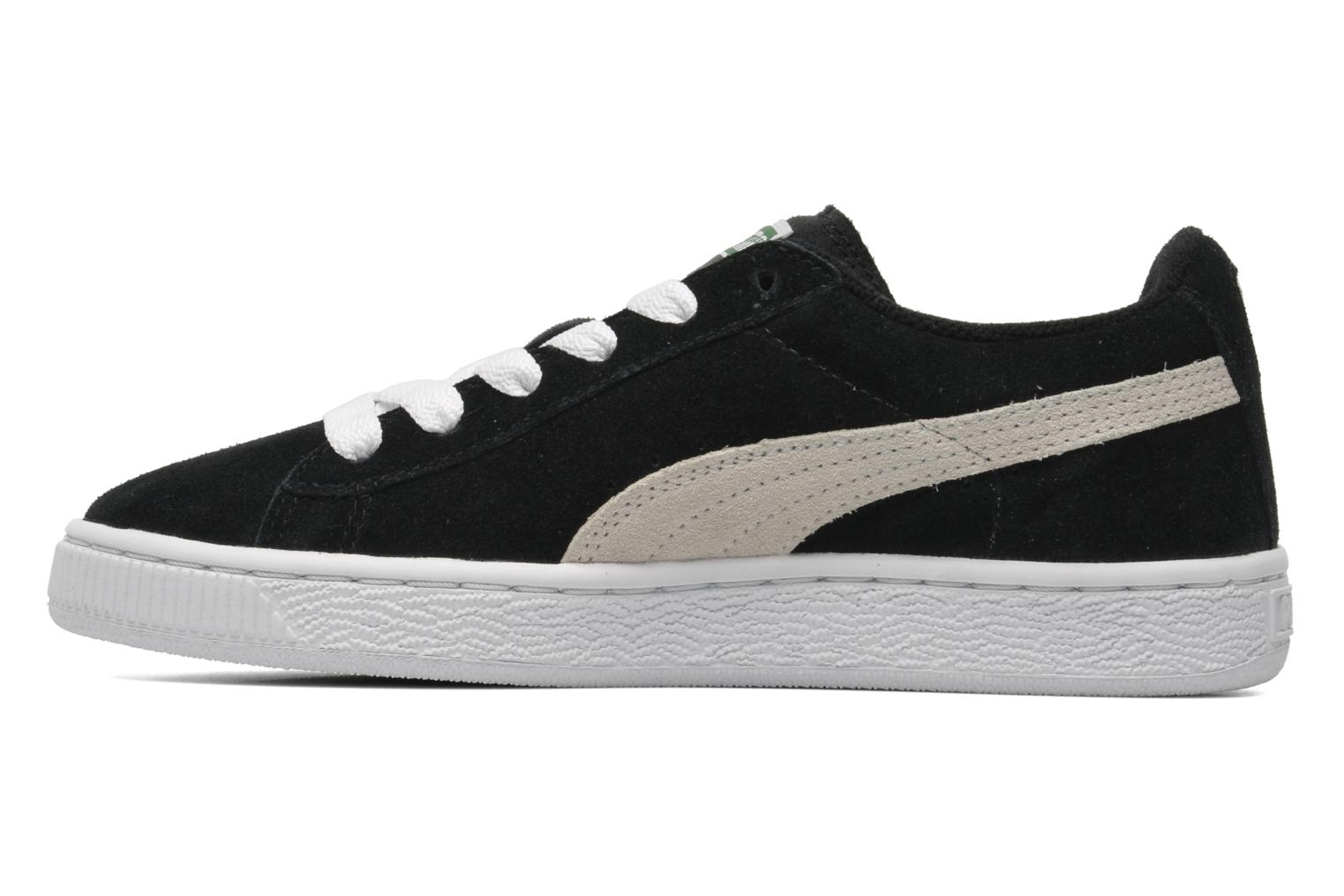 Baskets Puma Suede Jr. Noir vue face