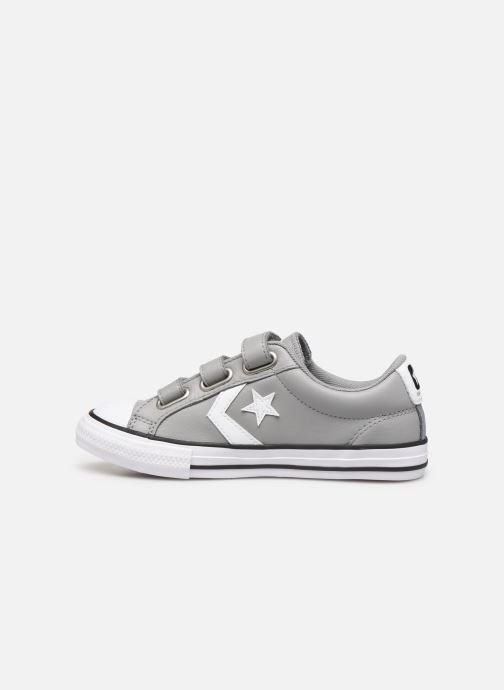 Deportivas Converse Star Player EV 3V Leather OX Gris vista de frente